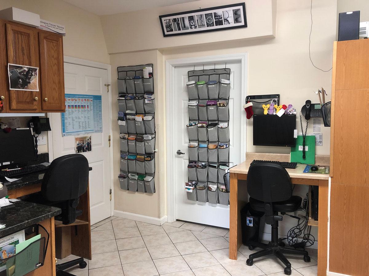 Dr. Sylvestre & Dr. Chace's Desk